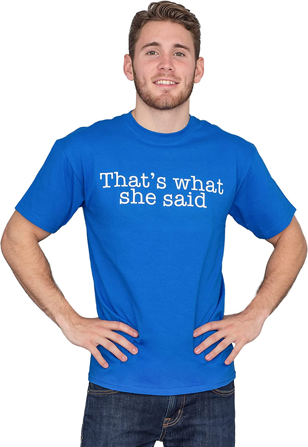 That/'s What She Said Funny T Shirt Michael Scott The Office Inspired Movie T-Shirt