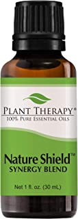 Plant Therapy Nature Shield Essential Oil Synergy | Natural Insect Repellent Blend | 100% Pure, Undiluted, Natural Aromatherapy, Therapeutic Grade | 30 milliliter (1 ounce)