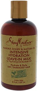 Shea Moisture Manuka Honey and Mafura Oil Intensive Hydration Leave-In Milk, 237 ml