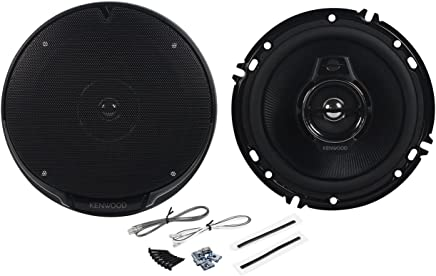 "Pair of Kenwood KFC-1695PS 6.5"" 320 Watts Peak Per Speaker (640 Watts Peak Per Pair) 3-Way 4-Ohm Car Speakers with Acoustic Sound Harmonizer Technology"