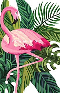 Flamingo 2021 planner (green back cover): Dated monthly and weekly planner. Improve goal setting, priority management, hab...