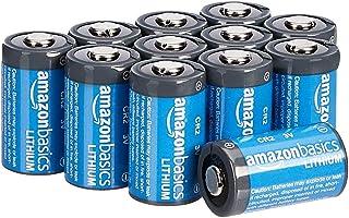 AmazonBasics - Pilas de litio CR2 de 3 V Pack de 12