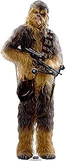 STAR CUTOUTS Star Wars Chewbacca (SW: TFA) cartón de tamaño Real Recortado