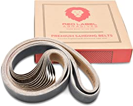 sanding belt grades