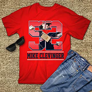 Mike 52 Cleveland Shirt Clevinger Baseball Jersey Fan Unisex men ladies hoodie tank top swearshirt long sleeve Tshirt for Men Women Ladies Kids
