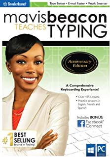 Mavis Beacon Teaches Typing Anniversary Edition [PC Download]