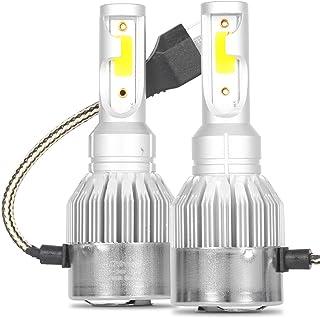 Kit Par de Lâmpada Super Led H4 Farol Baixo e Alto 6000k Branco Frio Efeito Xênon 7600 Lm com Cooler Automotivo para Carro