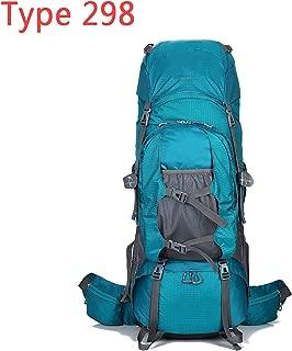 80L Rucksack Climbing Bag Outdoor Backpack Camping Hiking Backpacks Nylon Bag Aluminum Alloy Frame Travel Backpack