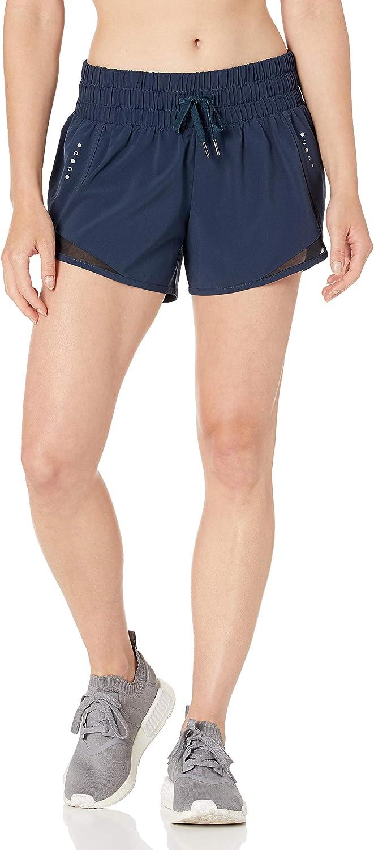 Amazon Brand - Core 10 Women's (XS-3X) Rouched Waistband Run Sho