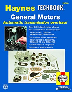 General Motors Automatic Transmission Overhaul Haynes TECHBOOK (Haynes Repair Manuals)