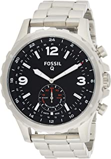 Fossil Mens Quartz Watch, Analog Display and Stainless Steel Strap FTW1123
