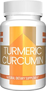 Turmeric Capsules (100 Capsules, 250 MG Each) by Pure Organic Ingredients, Natural Anti-Inflammatory for Joint Pain, Heartburn, and More
