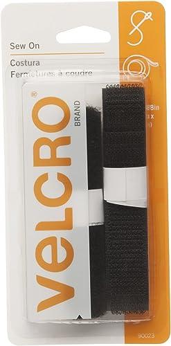 El nuevo outlet de marcas online. Velcro Marca Marca Marca Sew sobre Cierres 3 4 de Ancho Cinta, negro, 30,5 cm  a la venta