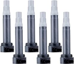 ECCPP Ignition Coils Pack of 6 Compatible with Chrysler Dodge Mercedes-Benz Volkswagen Routan 2006-2012 Replacement for UF-502 UF-609 C1522
