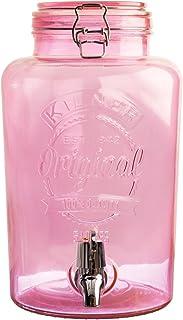 Kilner Vintage dispensador de Bebidas, rosa, 19 x 25 x 30 cm, ...