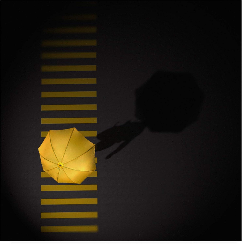 Trademark Fine Art Crossing Umbrella by Antonyus Bunjamin Abe, 14x14