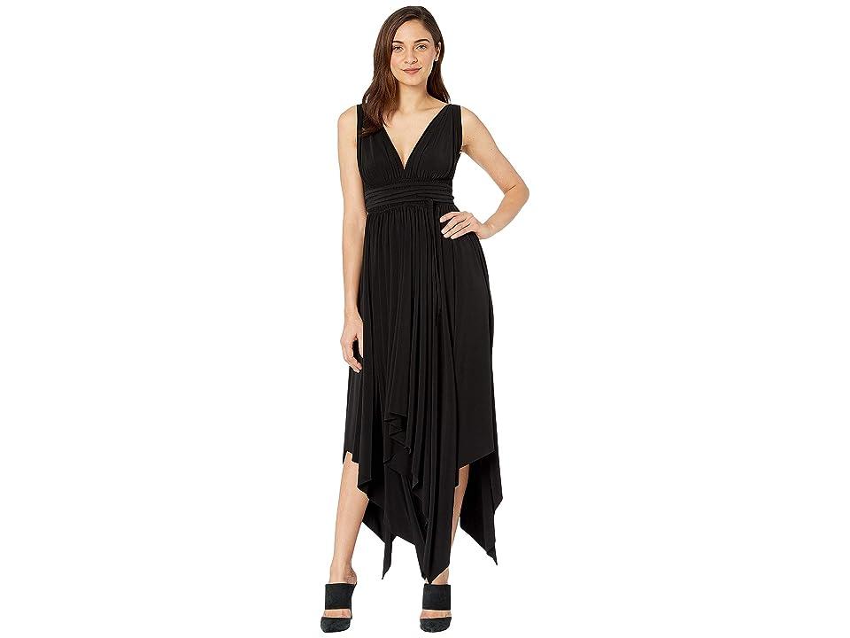 KAMALIKULTURE by Norma Kamali Goddess Dress (Black) Women