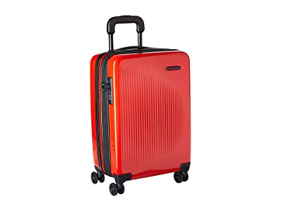 Briggs & Riley Sympatico International Carry-On Expandable Spinner (Fire) Luggage