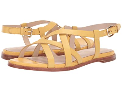 Cole Haan Analeigh Grand Strappy Sandal (Sunset Gold Leather) Women