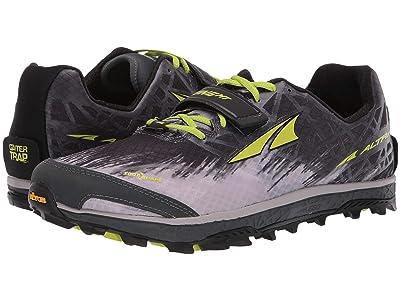 Altra Footwear King MT 1.5 (Gray/Lime) Men