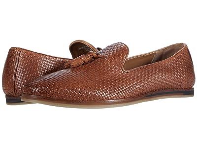 WALK London Chris Tassel Loafer (Tan Leather) Men
