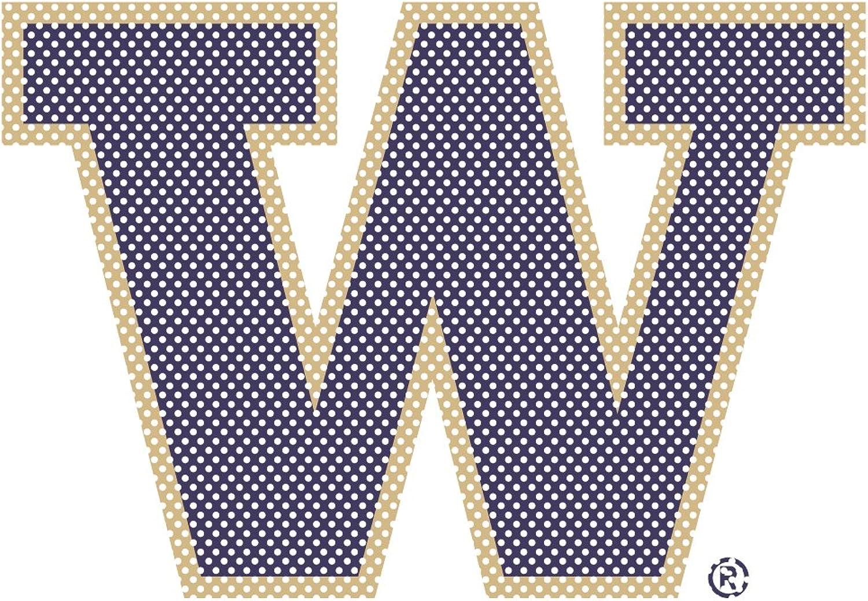 NCAA Unisex NCAA Perforated Decal 12  TallPrimary Logo