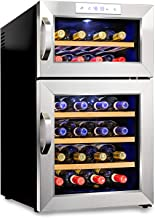 Best 24 bottle dual zone freestanding wine cooler Reviews