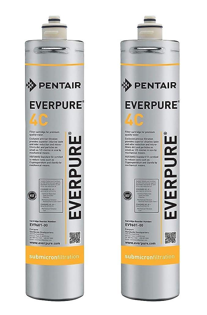 ダイジェストパイル電報Everpure EV9601-00 4C カートリッジ Pack of 2