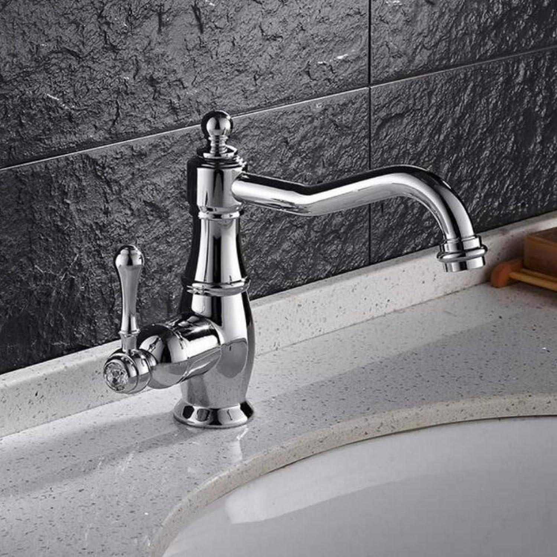 Gorheh Messing Material Wasserhahn Chrom Dreharmatur Hei Und Kalt Bad Waschbecken Wasserhahn Luxus Waschbecken Mischbatterie