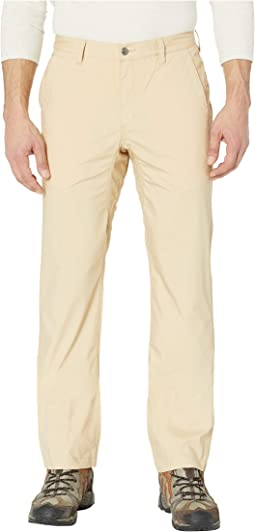Stretch Poplin Pants Slim Fit