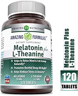 Best l theanine plus melatonin Reviews