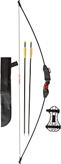 PSE Youth Explorer Recurve Bow, Black, 15-Pound, Right Hand/Left Hand