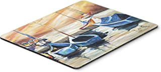 Caroline's Treasures JMK1038MP Beach View with Sailboats Mouse Pad, Hot Pad or Trivet, Large, Multicolor