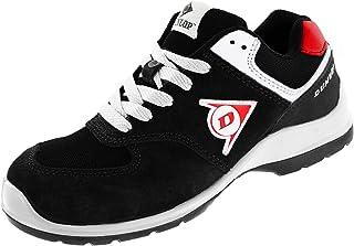 Negro y Amarillo 36 Piel de Ante y Mesh Dunlop DL0201038-36 Zapato