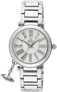 [ヴィヴィアン・ウエストウッド]VivienneWestwood 腕時計 マザー オーブ ホワイトパール文字盤 スイスムーブ VV006PSLSL レディース 【並行輸入品】
