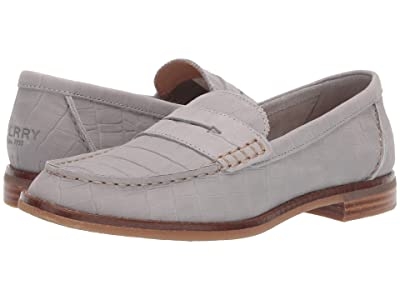Sperry Seaport Penny Croc (Grey) Women