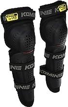 コミネ(KOMINE) バイク用 CEレベル2トリプルニーガード ブラック Free SK-819 1198 CE規格レベル2 プロテクター