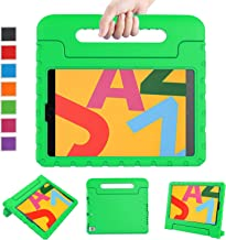 LTROP New iPad 10.2 Kids Case for iPad 7th Generation Kids Case, Light Weight Convertible Shock Proof Stand Friendly Kids Handle Case for New iPad 10.2 inch 2019 Latest Model and Air 3 - Green