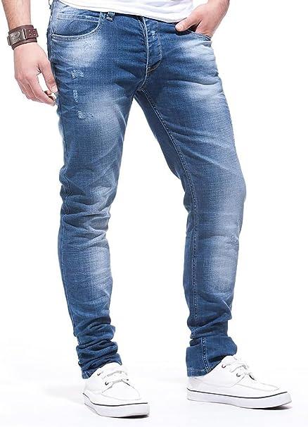 Leif Nelson Vaqueros para Hombre Pantalones Jeans LN-271