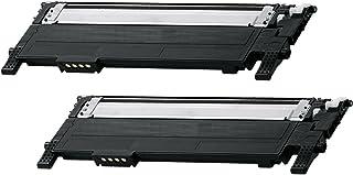Prestige Cartridge CLT-K406S Pack de 2 Cartuchos de tóner láser compatibles para Samsung CLP-360 CLP-365 CLP-365W CLX-3300 CLX-3305 CLX-3305FN CLX-3305W Xpress C410W SL-C460W SL-C460FW SL-C467W