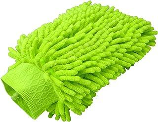 Carrfan 1PCS Car Wash Mitt Chenille Microfiber Premium Scratch-Free Car Wash Glove Sponge
