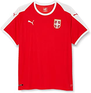 PUMA Herren Serbia Home Shirt Ss Replica Trikot