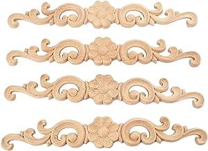 Decorative wooden tile applique furniture moulding CC110
