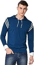 Fenoix Men's Cotton Hooded Neck T-Shirt
