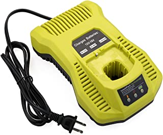 Biswaye Dual Chemistry Battery Charger P117 P118 for Ryobi 12V 18V One+ Plus NiCd NiMh..