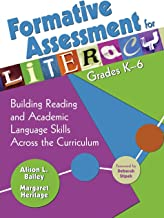 Formative Assessment for Literacy, Grades K-6: Building Reading and Academic Language Skills Across the Curriculum (NULL)