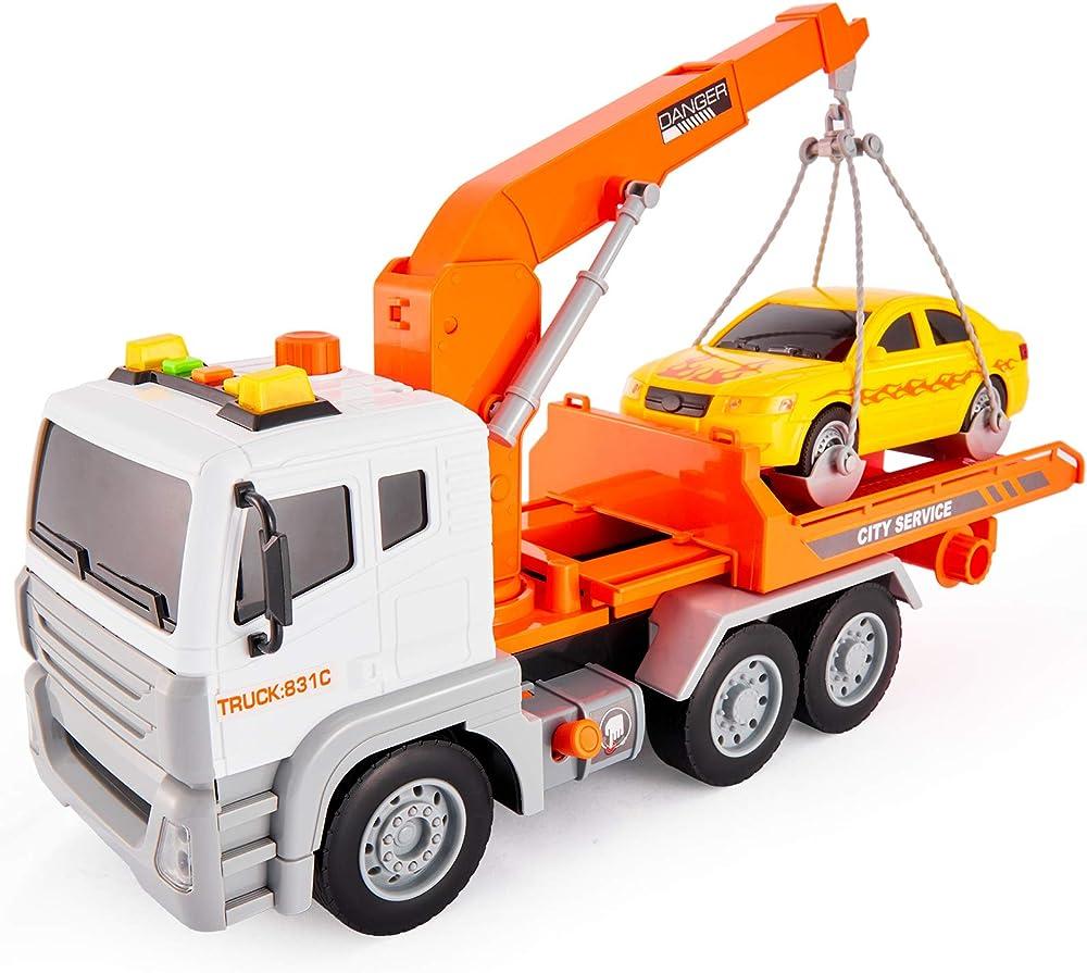 Hersity, carro attrezzi, giocattolo grande con suoni e luci 0901145