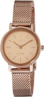 FJORD Women's FJ-6045-33 Analog Quartz Rose Gold Watch