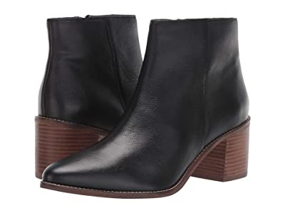 Seychelles For The Occasion (Black Leather) Women