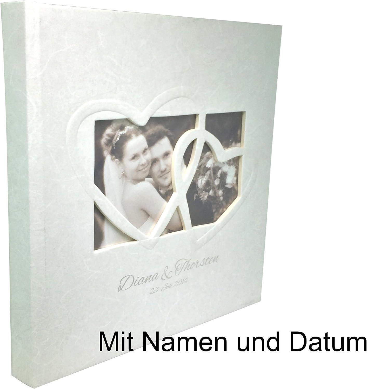 KATINGA Gästebuch GB-123 zur Hochzeit Hochzeit Hochzeit Sweet Heart mit individueller Namens-und Datumsgravur 23x25 cm B01IRKJELU ae4cd4